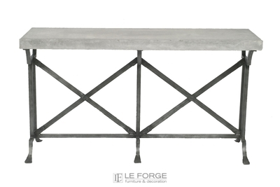 Napoli-Console-steel-galvanised-marble-glass-zinc-garden-french-provincial-le forge-.jpg