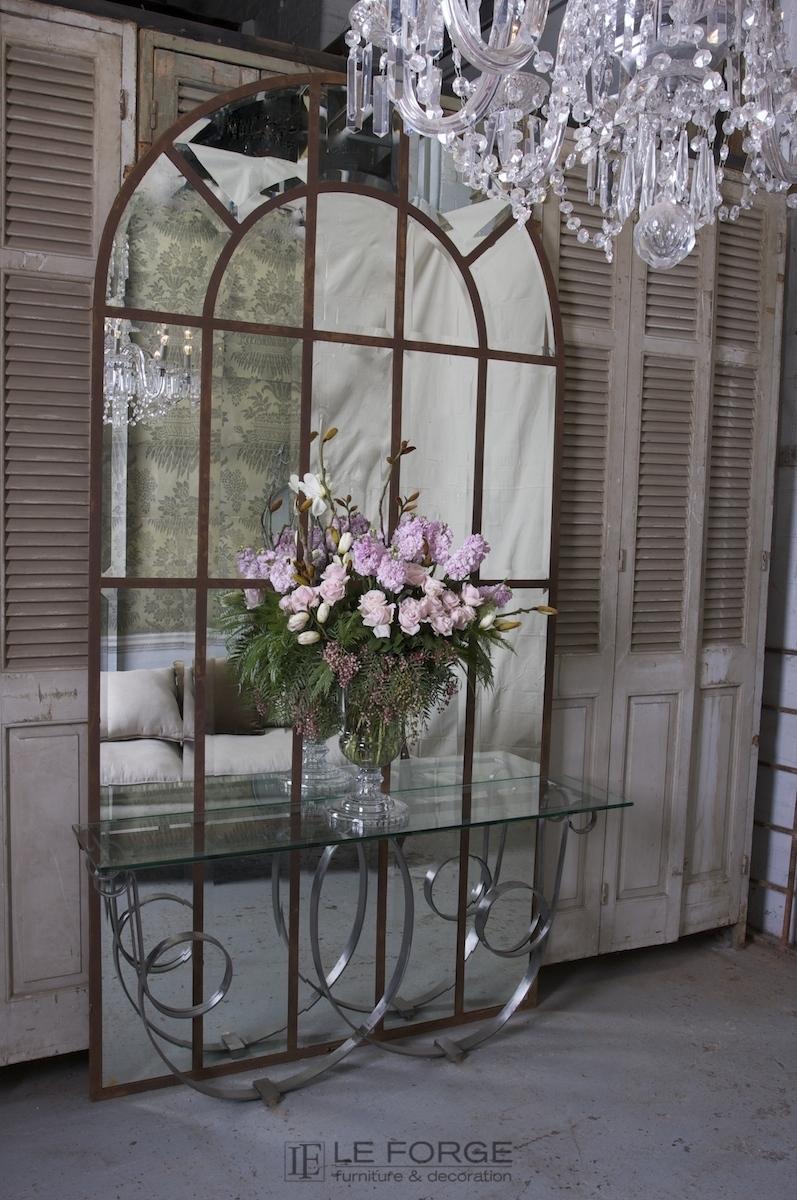Unique Decoration : Arched Panel Mirror 180H cm XH47