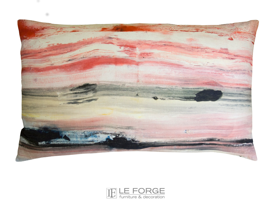 Textiles cushion maison levy horizon for Au maison cushions