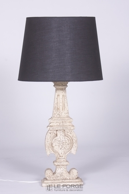 lamp-wooden-distressed-french-carved-le forge.jpg